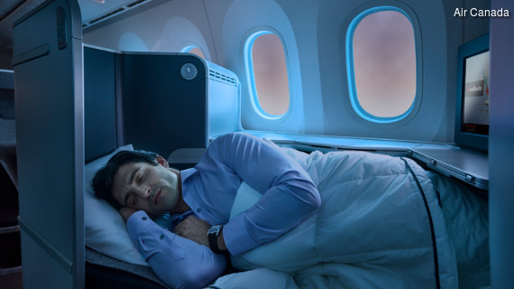 Air Canada International Business Class